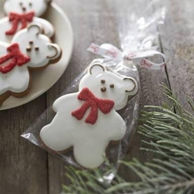 Resultado de imagem para bear cookies decoration