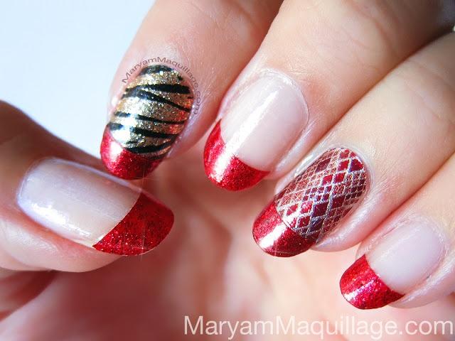 Nail Polish Applique Design - Creative Touch