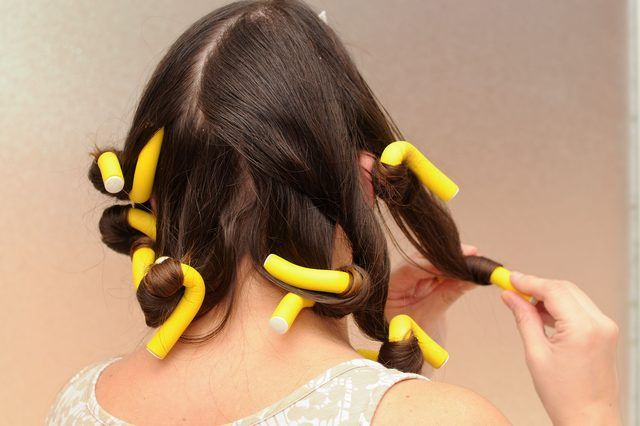 How to Curl Hair With Foam Rollers