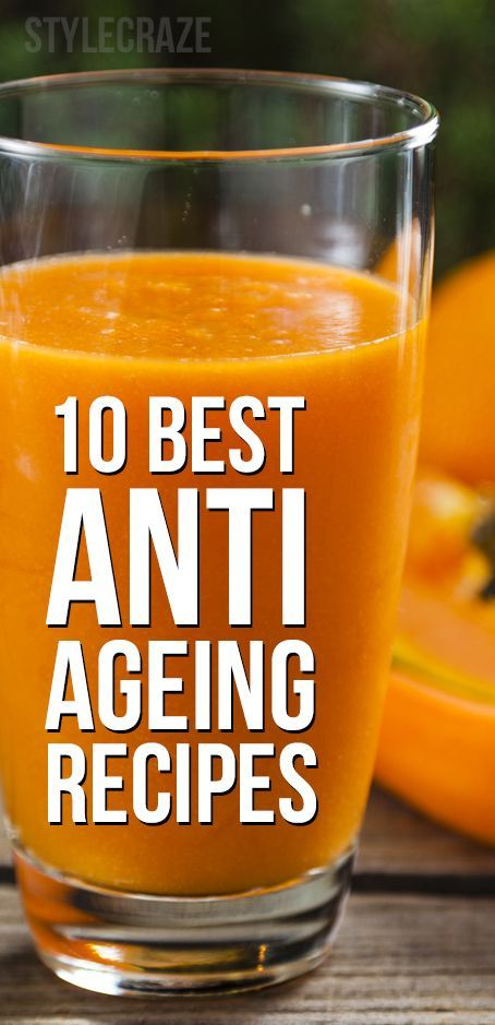 Do you often worry that you are ageing too fast? Have you ever wanted to slow down ageing? Here are 10 best anti ageing recipes that you must try today. Read on to know more
