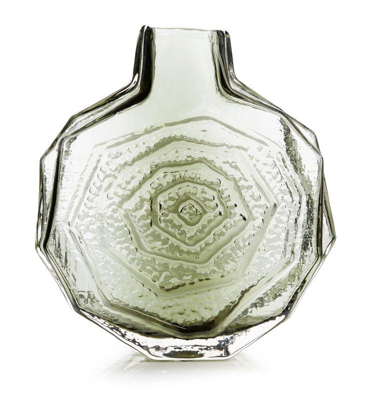 Geoffrey Baxter; Glass 'Banjo' Vase for Whitefriars, 1967.