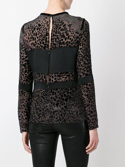 Купить Emanuel Ungaro блузка с леопардовым принтом  .