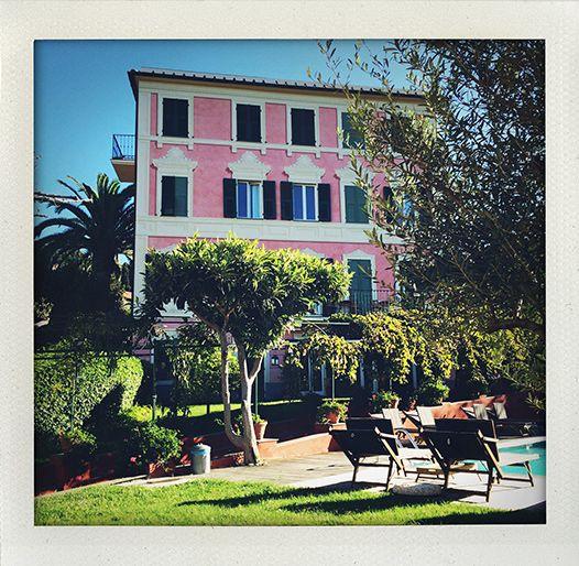 Villa Rosmarino, Camogli, Italy (I huvudet på Elvaelva)