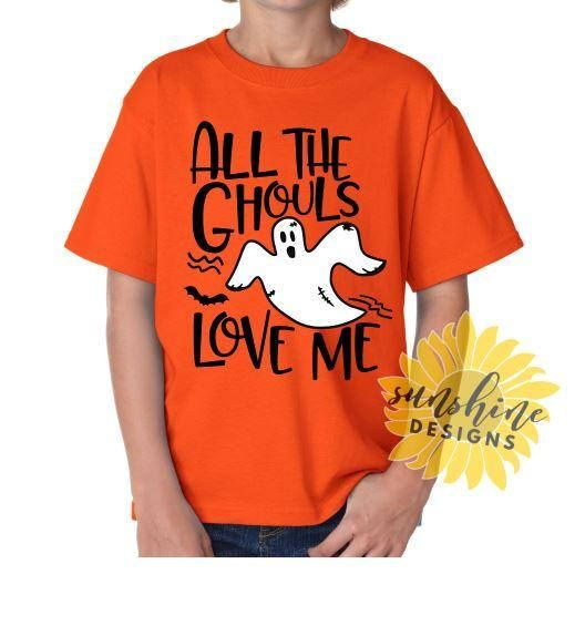 Download All The Ghouls Love Me SVG DXF PNG, Halloween svg, boy svg ...