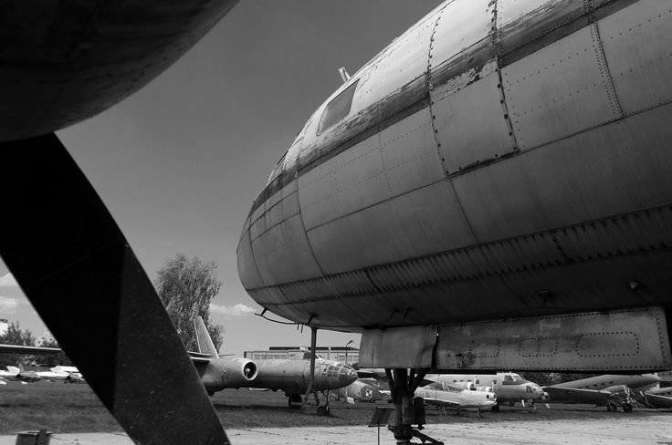 Grounds of Aviation Museum, #Krakow