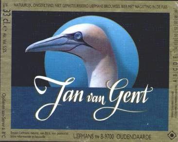 Jan Van Gent - Brouwerij Liefmans, Oudenaarde, België. Beoordeling GGOB: 5,8. Eigen beoordeling:7,5