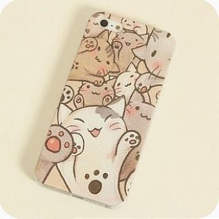 Buy 'Cuteberry – Cat-Print iPhone 4/4s/5/5s Case' with Free International Shipping at YesStyle.com. Browse and shop for thousands of Asian fashion items from China and more!