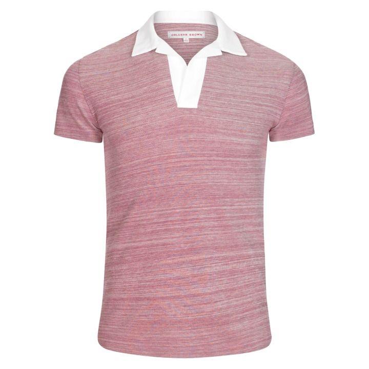 Men's Felix Pique Cotton Polo   Orlebar Brown