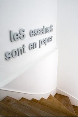 #escaliers #en #papier #paper #letters