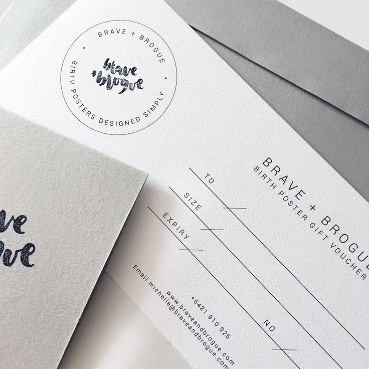 Gift a friend or family member a Brave + Brogue Baby Birth Poster. They will receive a beautiful voucher to then redeem after the birth of their baby.