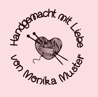 """Shop Stempel  """" Handgemacht mit Liebe """""""