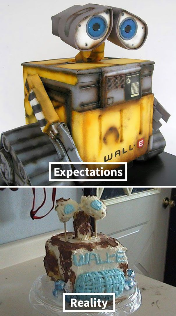 Expectations Vs Reality: 10+ Of The Worst Cake Fails Ever