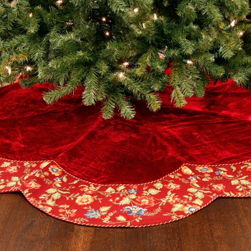 53 best Holidays - Christmas - tree skirts images on Pinterest ...