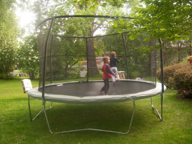 7 best kids play sets and swing sets outdoors images on for Trampoline porch swing