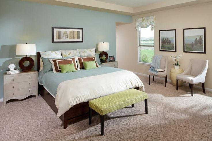 Mine and Adam's room :) Blue Feng Shui Master #Bedroom Ideas