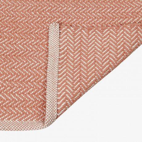 170x240 Field Teppich - Rosa - von HOOME