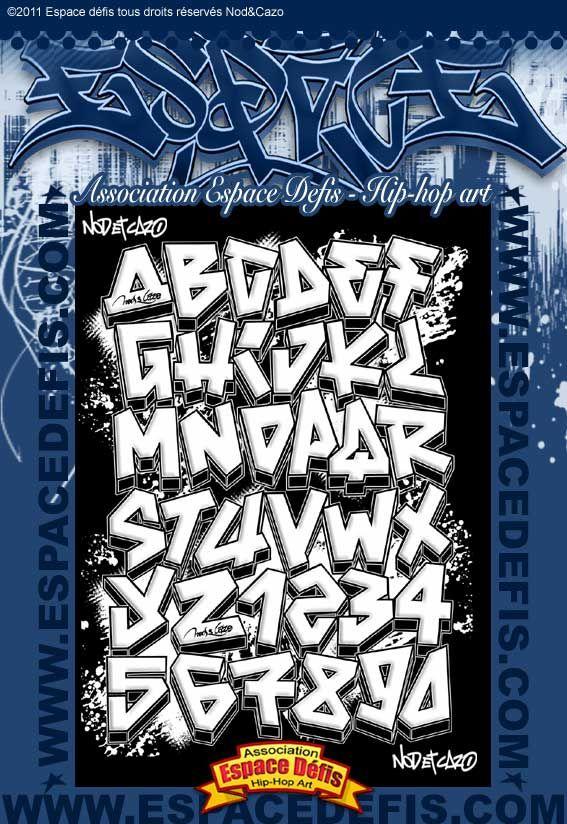 5 , Alphabet graffiti simple style , Vous avez choisi celui,ci ! participez  au
