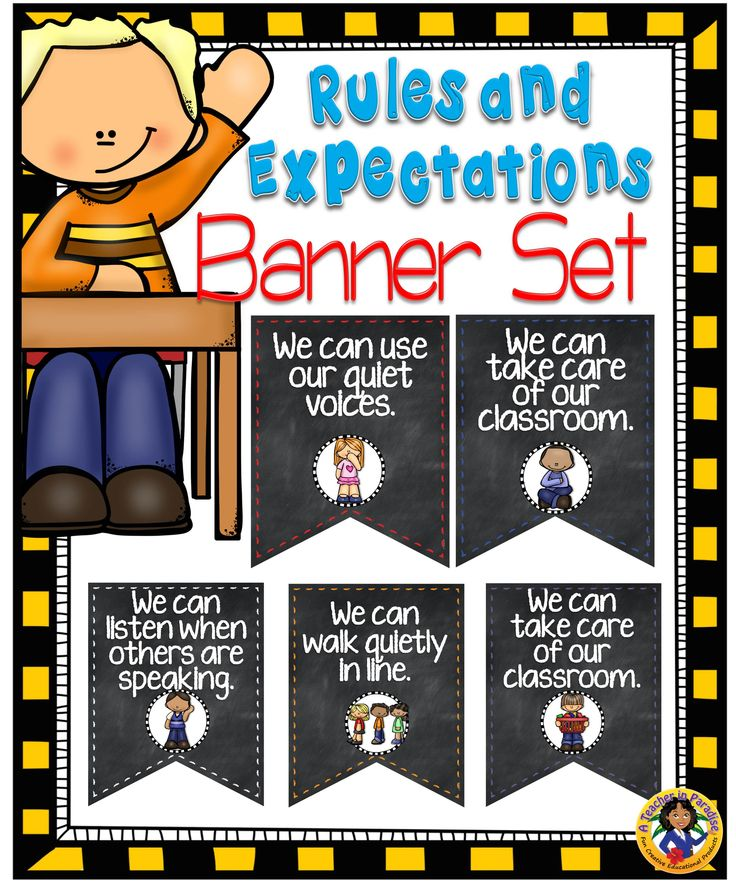 Developing Classroom Expectations