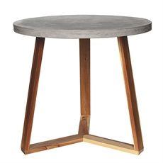 Quadro Round Table 80cm Diameter | freedom Furniture and Homewares