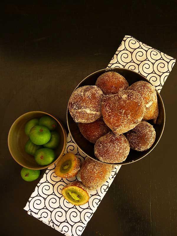 kiwiberry doughnuts