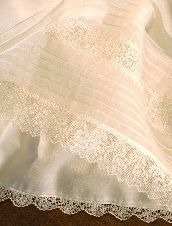 06d21c2f1dcb Gracious Christening Gown in Pleated Organdy with Matching Bonnet - Isabel  Garretón