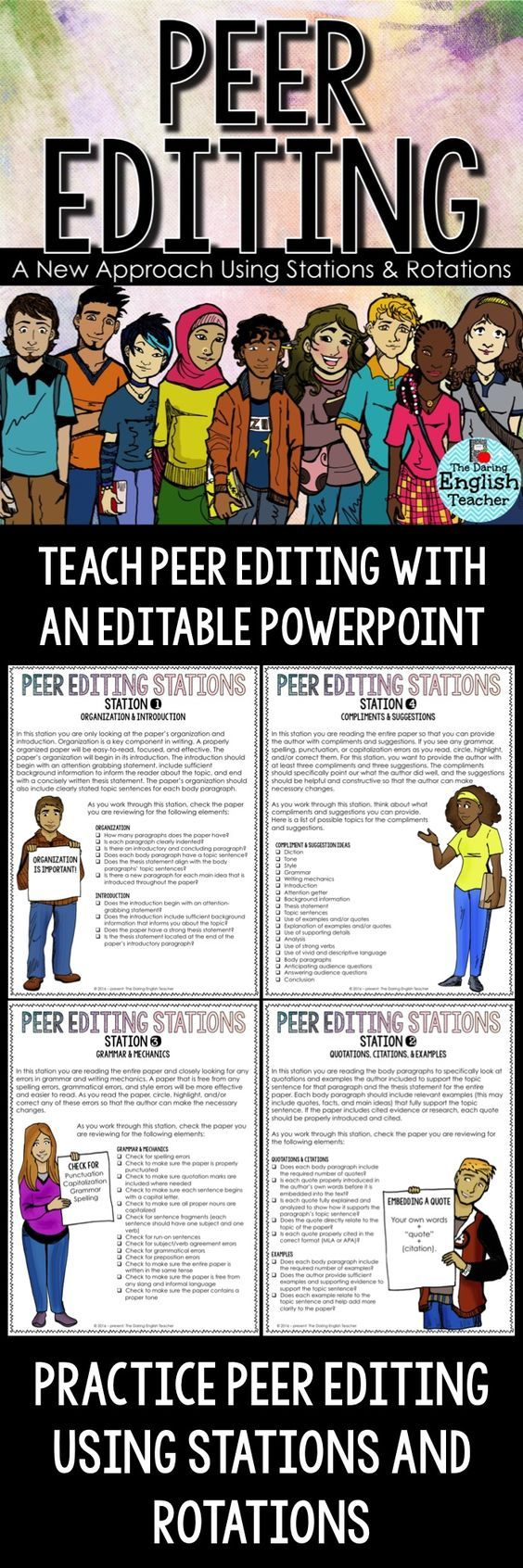 must see high school writing pins th grade writing th peer editing stations and rotations writing teachinggrade