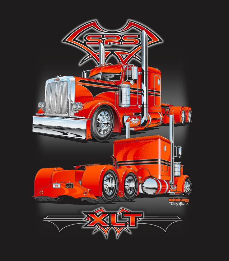 SRS National XLT Terry Akuna's Trucking Industry
