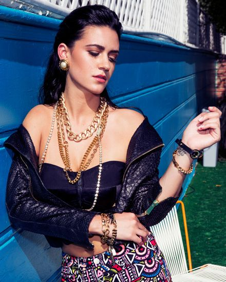 She has a killer voice AND killer style. Check out Kat Dahlia's interview with MTV about her personal fashion choices.