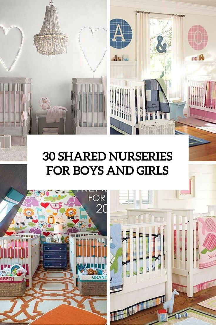 Baby Boy And Girl Room: 30 Cutest Shared Nurseries For Boys And Girls
