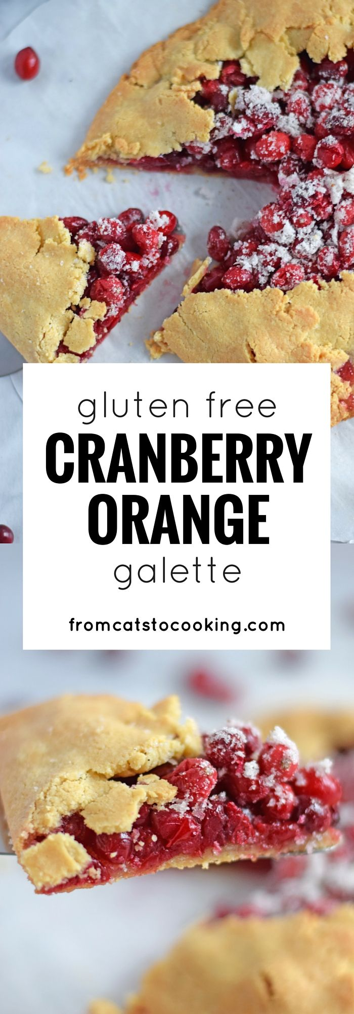 Orange Galette - Made with a gluten free crust, this cranberry orange ...