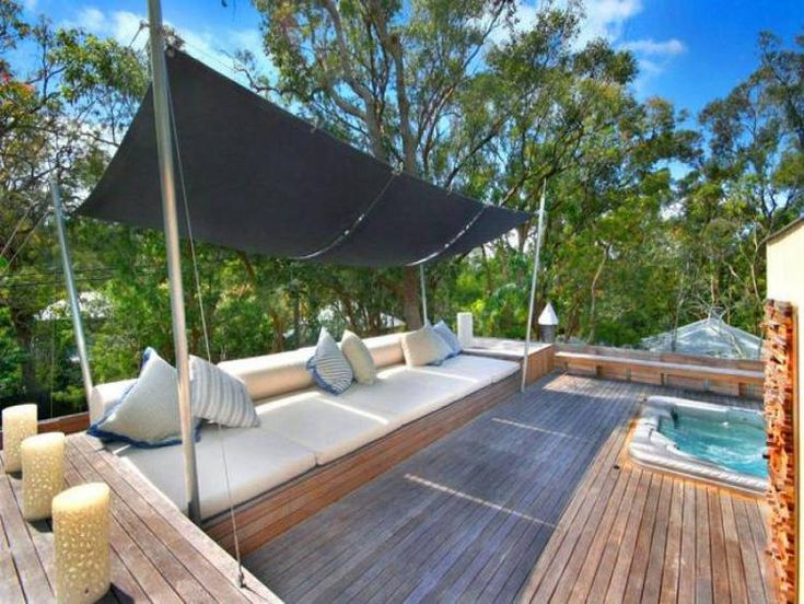 desire to inspire - desiretoinspire.net - Modern pearl- i would love to have a shade structure like this!