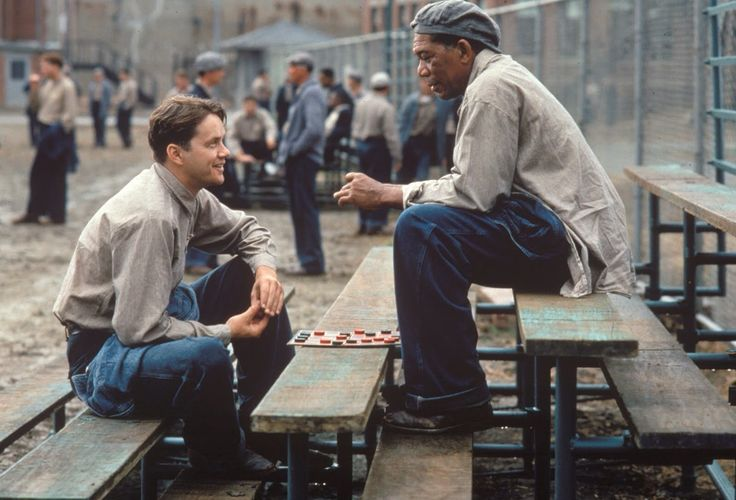 34 Rarely Seen Behind the Scenes Photos From the Filming of 'The Shawshank Redemption'