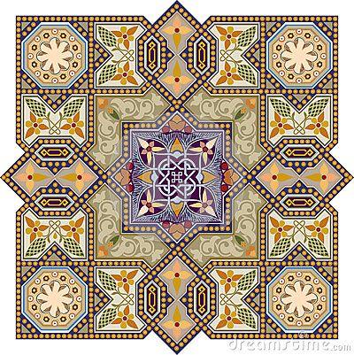 Modelo del Arabesque. Patrones para talla de madera, repujado en cuero o metal, bordado, dibujo, tattoo... seguro que encuentras algo que te guste