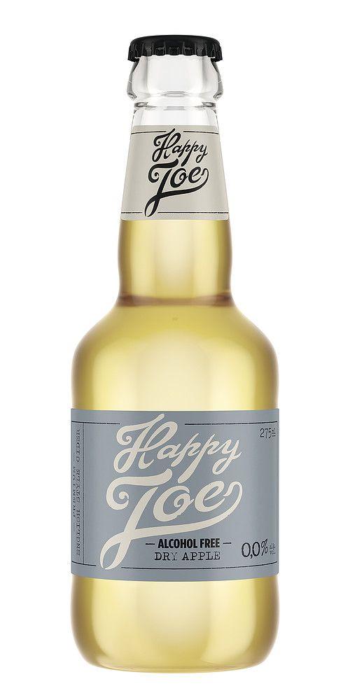 Happy Joe Dry Apple 0,0% Alcohol Free® on tyylikäs kuivan omenan makuinen alkoholiton siiderijuoma, joka tarjoaa omenasiiderin raikkaan ja luonnollisen alkoholittomana versiona.