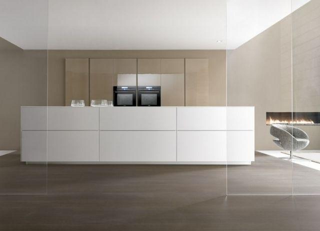 Schön Küche Kochinsel Modern Weiß Beige Designer Marconato Zappa Comprex | Küche  | Pinterest | Küche Kochinsel, Kochinsel Und Küche