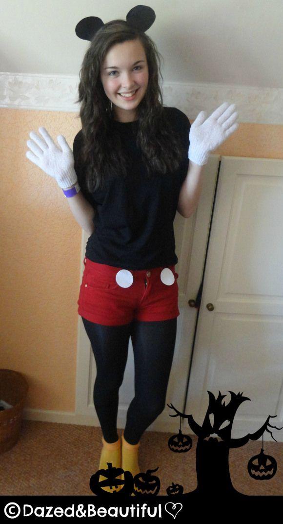 DIY Mickey Mouse Costume | Dazed&Beautiful