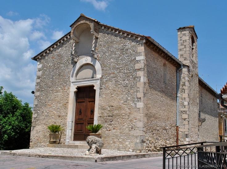 Lazio, Scandriglia (Rieti) - fraz. Ponticelli - Chiesa di S. Maria del Colle - Photo G. Garofoli (06-2010) -  © All rights reserved - Tesori del Lazio
