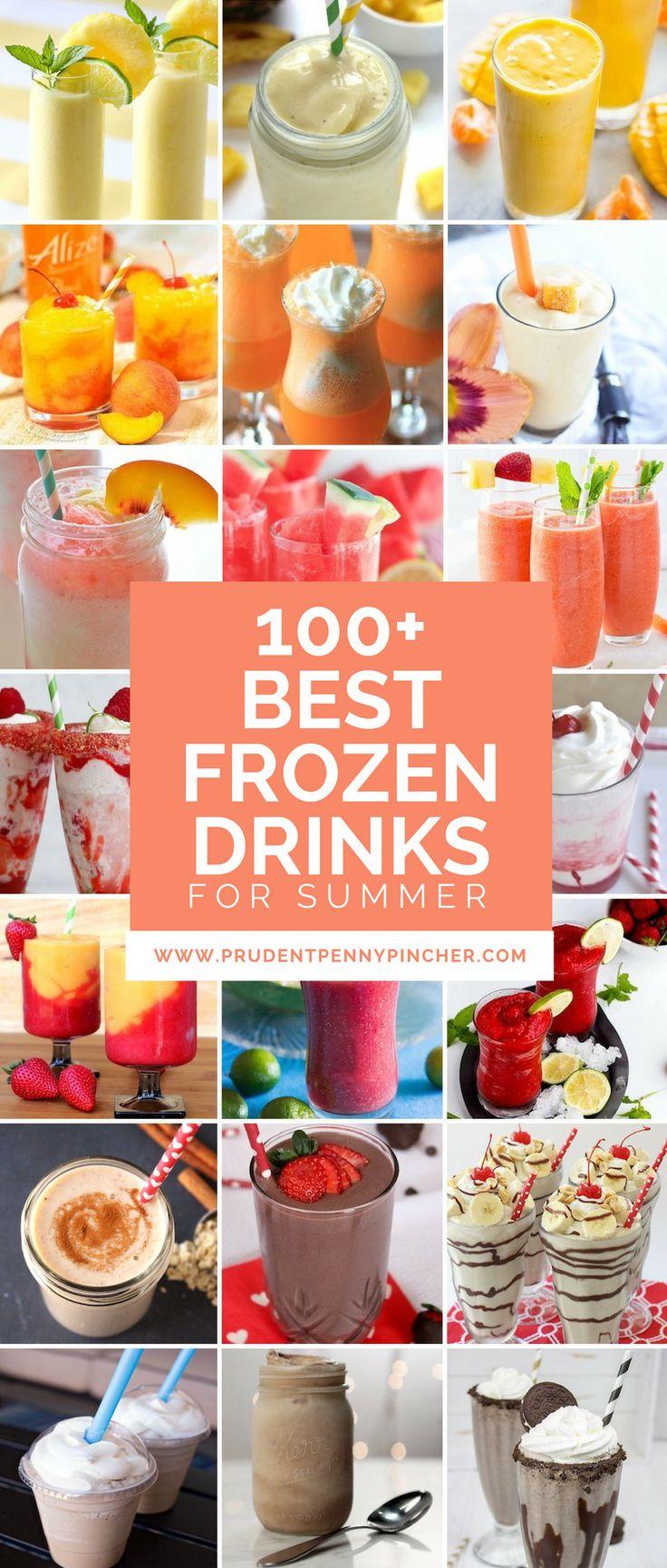 100 Best Frozen Summer Drinks