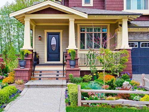 6 garden design ideas for under 50 60 best images about diy split rail fence - Garden Design Front Of House