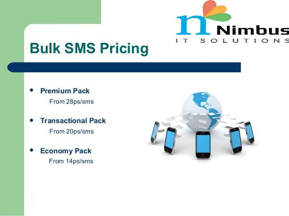 We provide affordable bulk SMS pricing in India with high priority bulk SMS  services. We have flat SMS prices for SMS gateways to send SMS to Delhi,  Mumbai, ...