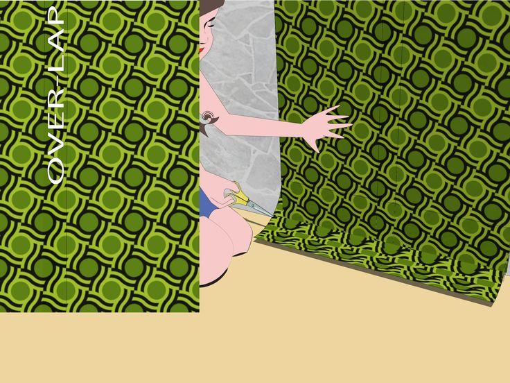 How to Hang Wall Paper over Wood Paneling -- via wikiHow.com