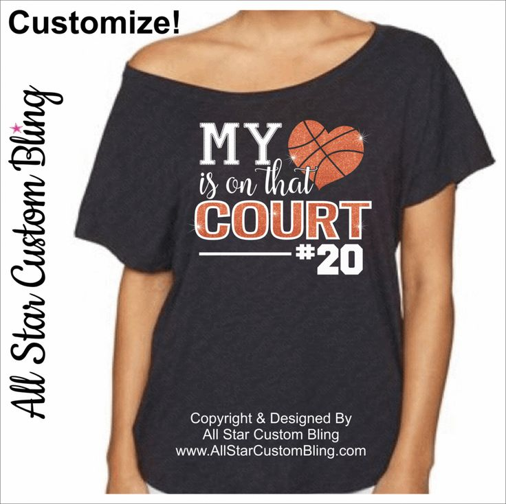 My Heart Is On That Court Glitter Basketball Shirt, Basketball Mom Shirt