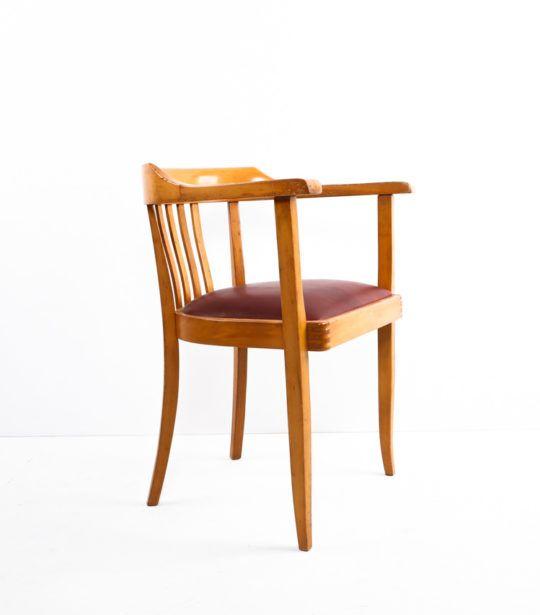 schreibtischstuhl buche leder alte m bel stuhl und m bel. Black Bedroom Furniture Sets. Home Design Ideas