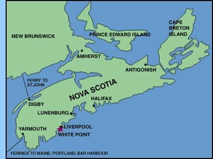 Map Of Canada Nova Scotia.Pin By Marilyn Ledet On Nova Scotia Nova Scotia Newfoundland