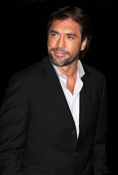 Javier Bardem so very handsome.