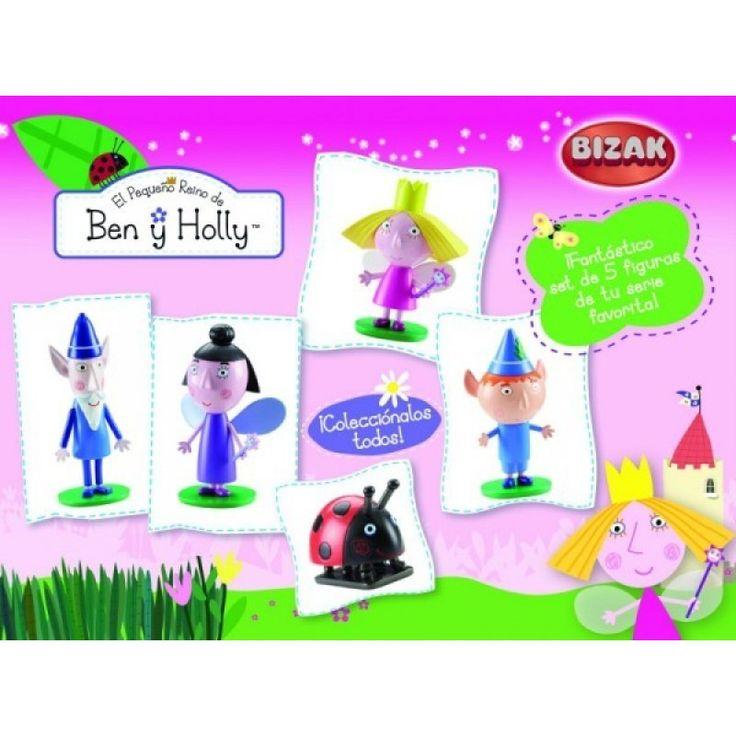 Juguete BEN Y HOLLY PACK 5 FIGURAS de Bizak Precio 19,99€ en IguMagazine #juguetesbaratos