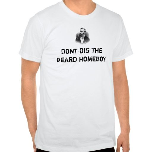 masons-2, Dont dis the beard homeboy Tee Shirt