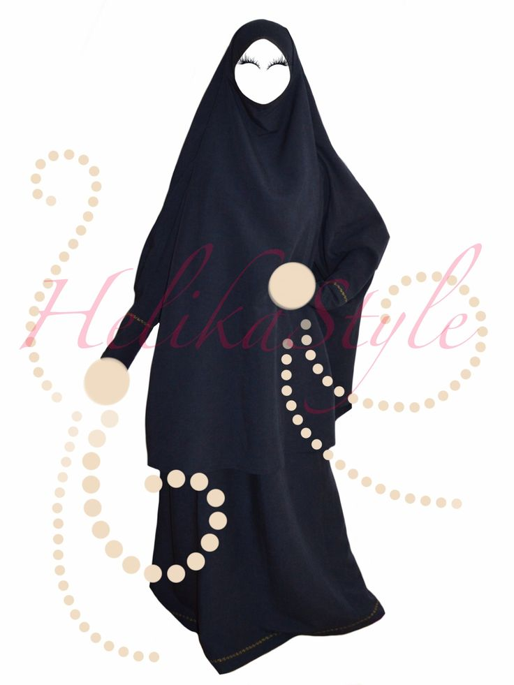Real Hijab Look. Hijab (or khimar, jilbeb, jilbab, overhead abaya) and kaftan dress for breastfeeding :: Sewing classes - HelikaStyle.
