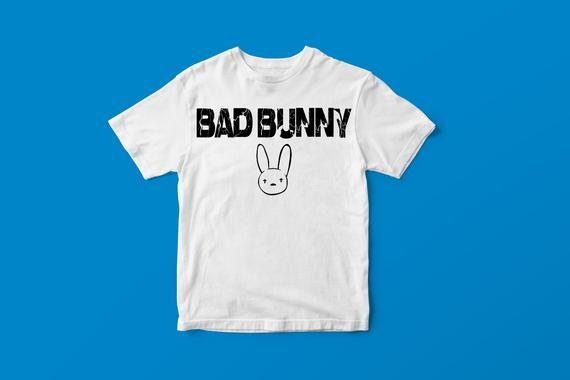 Ringspun Tee BAD BUNNY T-Shirt Reggaeton Latin Hip Hop Puerto Rican Rap Salsa
