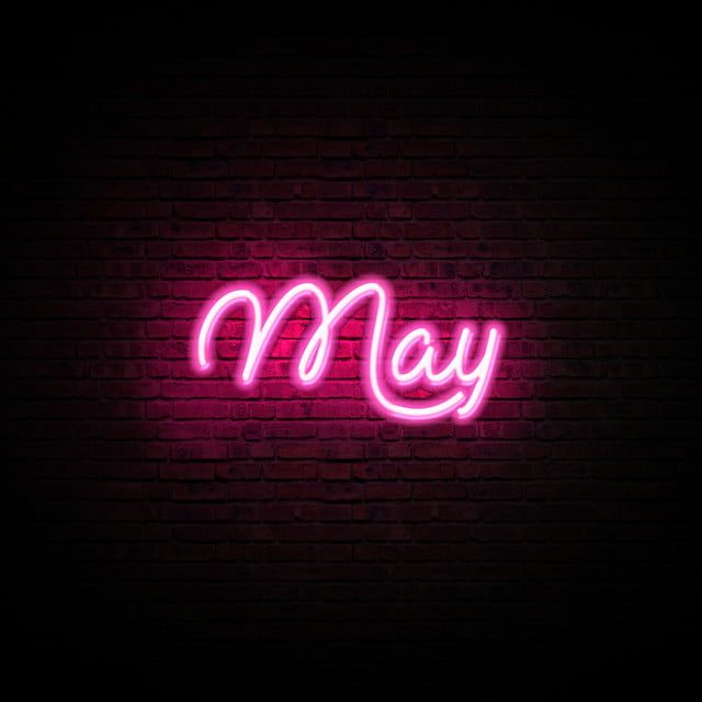 Efecto De Texto De Mes De Mayo Resplandor De Neón Pink Neon Wallpaper, Wallpaper Iphone Cute, Cute Wallpapers, Neon Wall Signs, Custom Neon Signs, Neon Quotes, Birthday Wishes Messages, Neon Logo, Neon Aesthetic